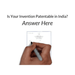 invention is patentable in India