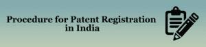 Procedure for Patent Registration