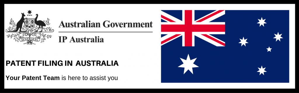Patent Filing in Australia