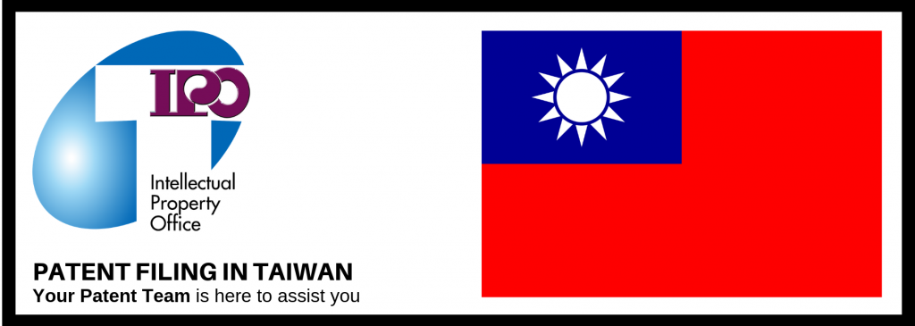 Patent Filing in Taiwan