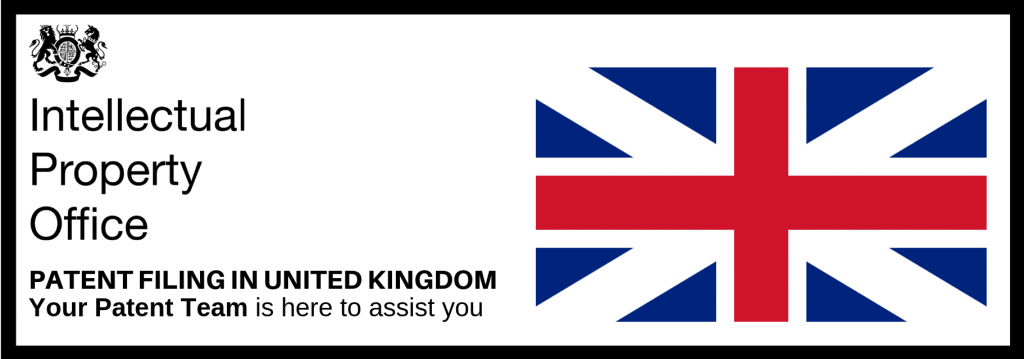 Patent Filing in United Kingdom