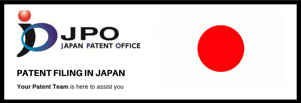 Patent Filing in Japan