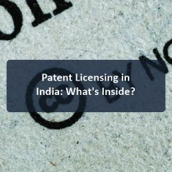 Patent Licensing in India: What's Inside