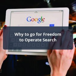 Freedom to operate Search
